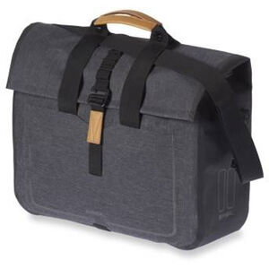 Basil Urban Dry Business Luggage Pannier Bag 20l charcoal melee charcoal melee