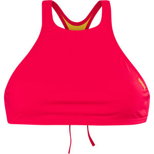 arena Think Crop Top Damen fluo red-yellow star fluo red-yellow star