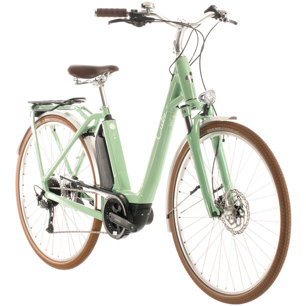 Cube Ella Ride Hybrid 500 Easy Entry green/white