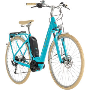 Cube Elly Ride Hybrid 400 Easy Entry Aqua'n'Orange bei fahrrad.de Online