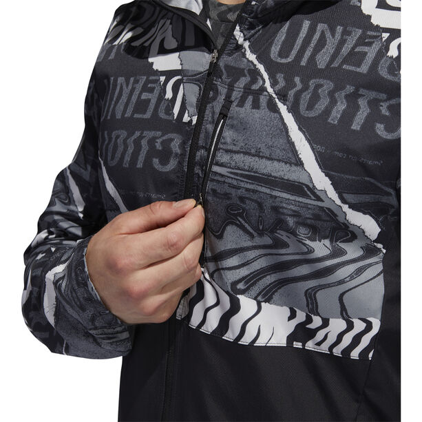 adidas OWN The Run Jacke Herren black/grey one/grey six