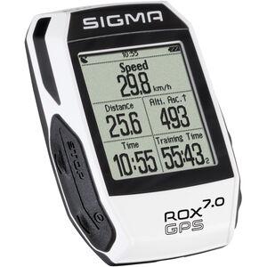 SIGMA SPORT ROX 11.0 GPS Fahrradcomputer Basic weiß bei fahrrad.de Online