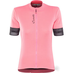 Castelli Anima 2 FZ Jersey Damen pink/light black pink/light black