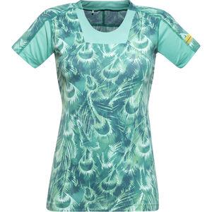 GORE RUNNING WEAR AIR PRINT Shirt Damen turquoise turquoise