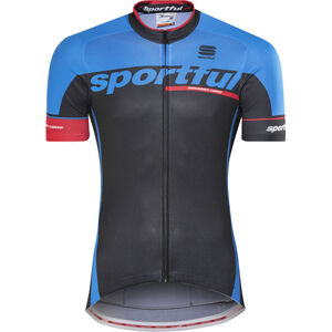 Sportful SC Team Jersey black/electric blue