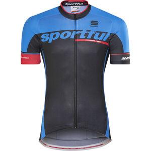 Sportful SC Team Jersey Men black/electric blue