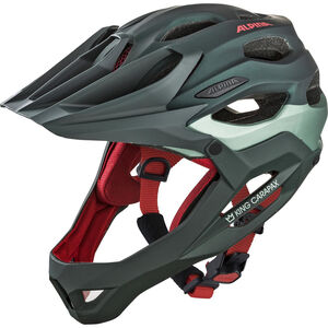 Alpina King Carapax Helmet seamoss bei fahrrad.de Online