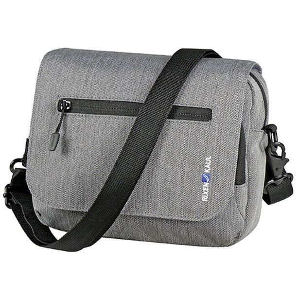 KlickFix Smart Bag Touch Lenkertasche grau