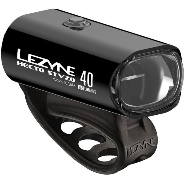 Lezyne Hecto Drive 40/KTV Drive LED Beleuchtungsset black