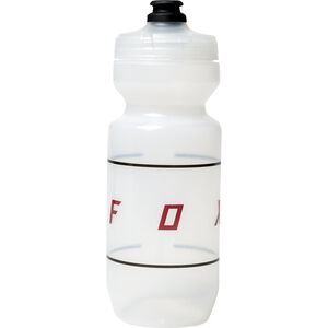 Fox Moth Purist Water Bottle Misc 650ml clear clear