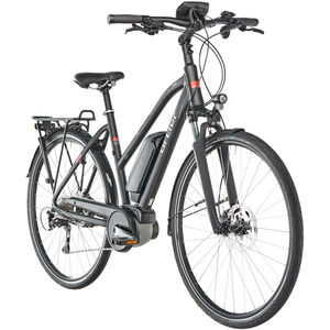 Ortler Tours Nyon Damen Trapez schwarz matt bei fahrrad.de Online