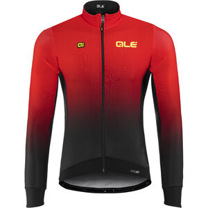 Alé Cycling PRS Dots DWR Longsleeve Jersey Herren black-red black-red