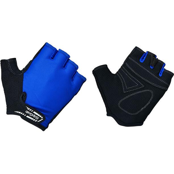 GripGrab X-Trainer Short Finger Gloves Kids Kinder blue