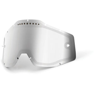 100% Vented Dual Replacement Lenses silver / mirror bei fahrrad.de Online