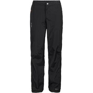 VAUDE Yaras III Rain Zip Pants Women black
