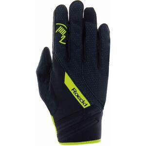 Roeckl Renon Handschuhe black/yellow black/yellow