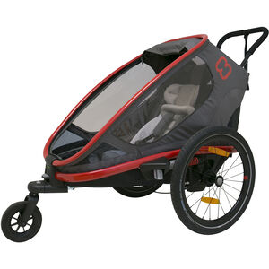 Hamax Outback One Bike Trailer red/charcoal red/charcoal