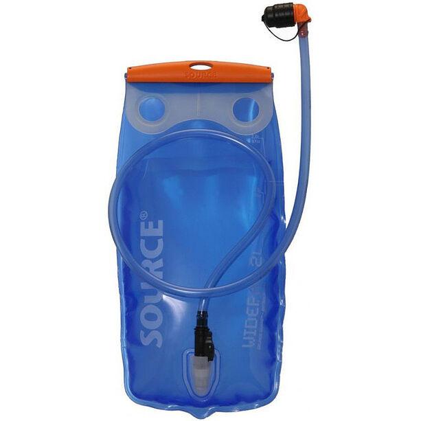 SOURCE Widepac Trinkblase 2 Liter transparent/blue
