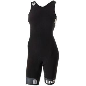 Bioracer Tri Elite Bathing Suit Damen black-white black-white