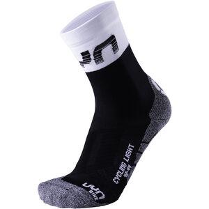 UYN Cycling Light Socks Herren black/white black/white