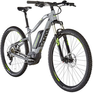 HAIBIKE SDURO HardNine 4.0 grau/schwarz/grün bei fahrrad.de Online
