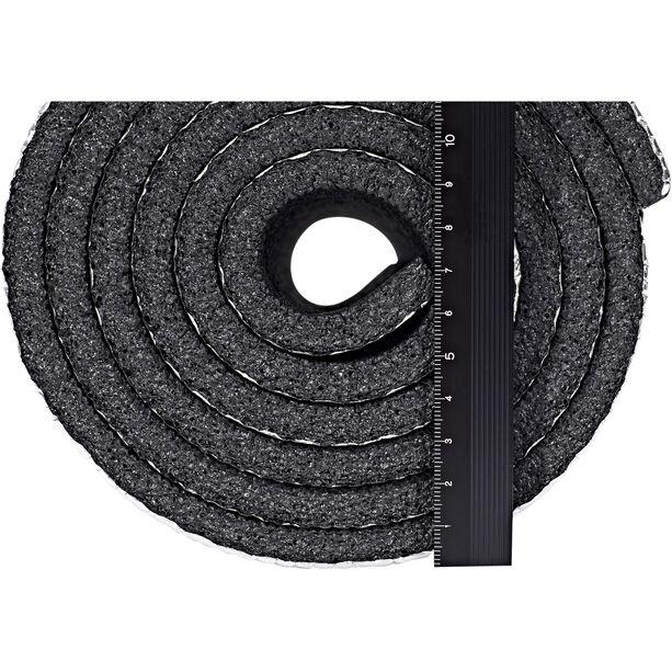 CAMPZ Aluminium Isomatte Einlagig 180x50cm schwarz