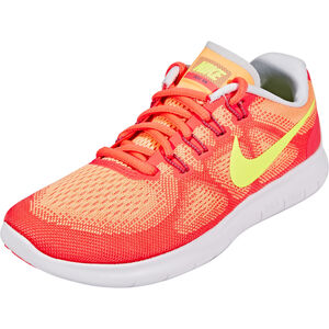 Nike Free RN 2 Running Shoes Women sunset glow/volt-hot punch-violet dust