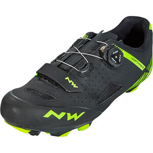 Northwave Origin Plus Shoes Herren black/green