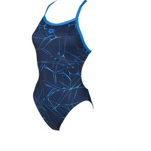 arena Water Light-Tech One Piece Swimsuit Women navy-pix blue bei fahrrad.de Online