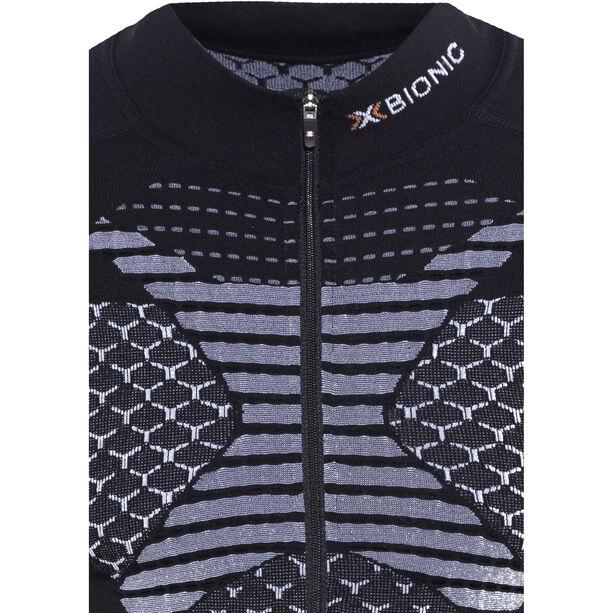 X-Bionic Twyce Fahrrad Trikot LS Herren black/white