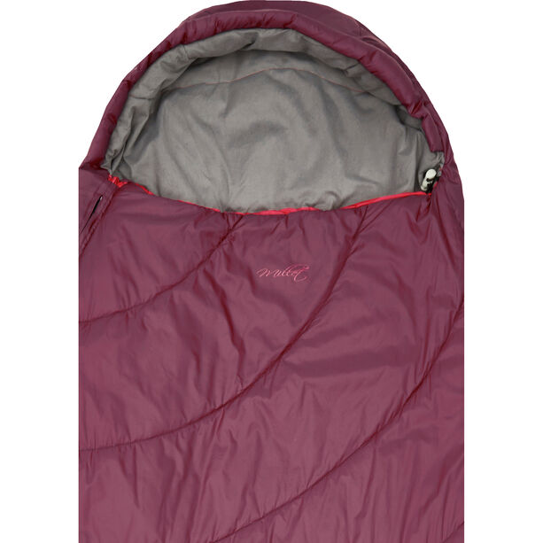 Millet Baikal 750 Sleeping Bag Damen velvet red