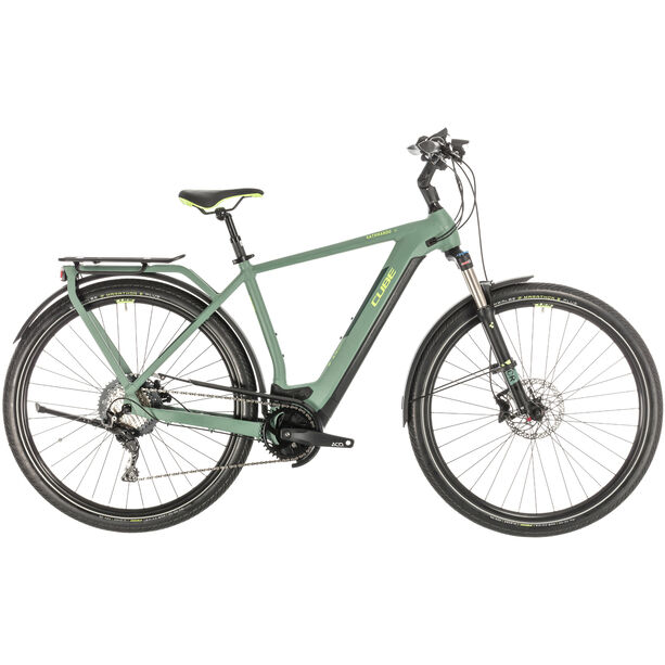 Cube Kathmandu Hybrid EXC 500 green/green