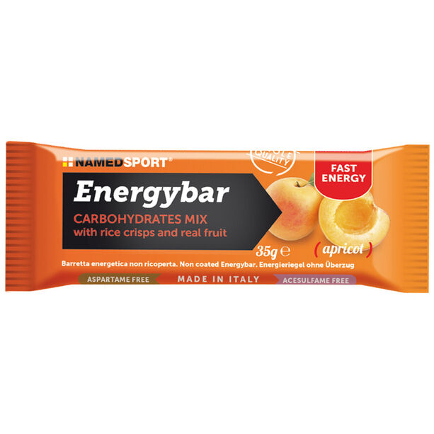 NAMEDSPORT Energy Riegel Box 12x35g Aprikose