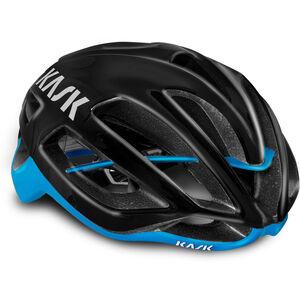 Kask Protone Helm schwarz/hellblau schwarz/hellblau