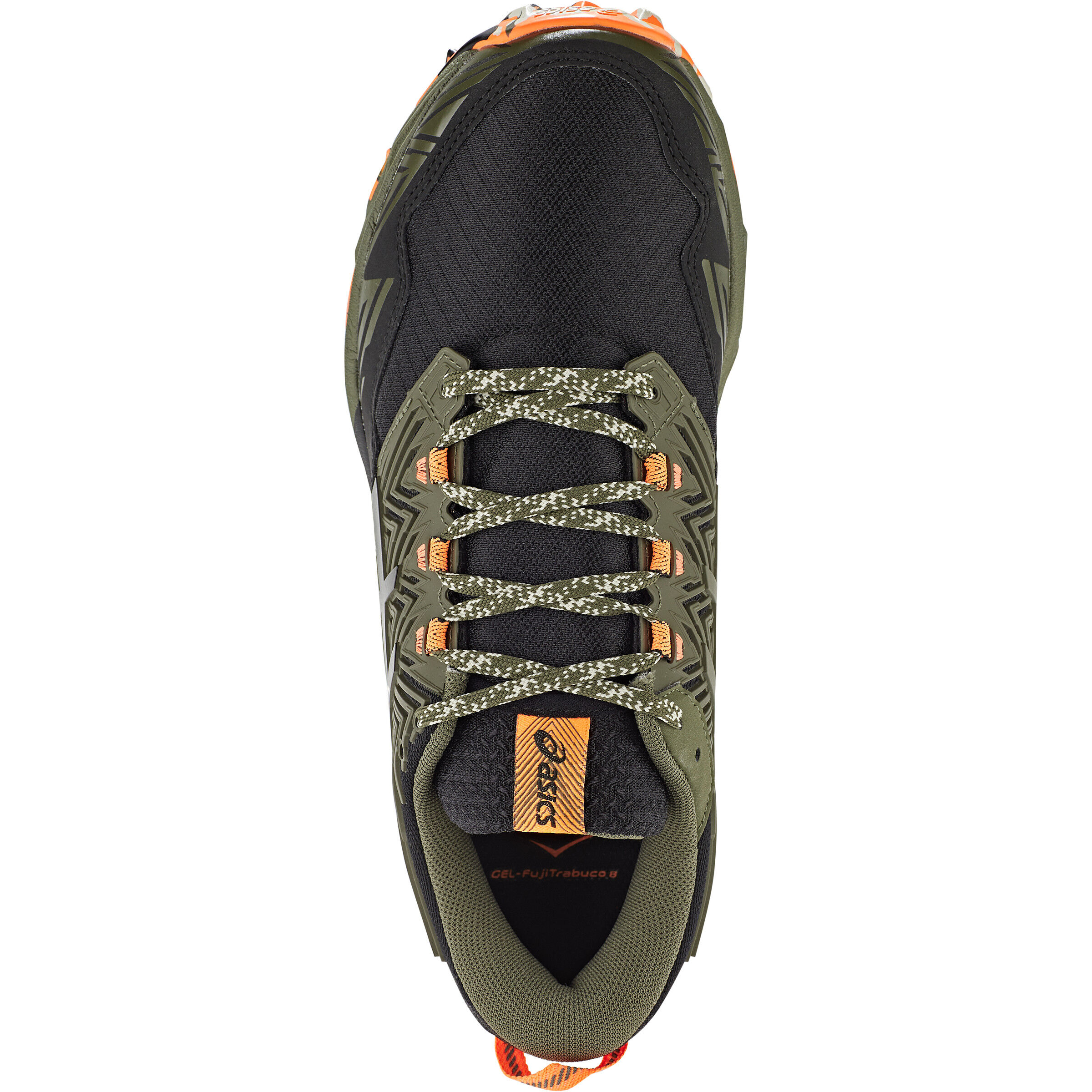 asics Gel Fujitrabuco 8 Schuhe Damen mantle greenblack