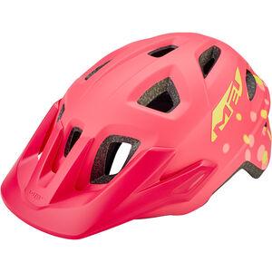 MET Eldar Helm Kinder coral pink polka dots coral pink polka dots