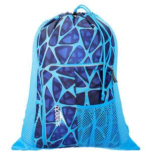 speedo Deluxe Ventilator Mesh Bag 35l Cage Blue bei fahrrad.de Online