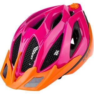 KED Spiri Two Helmet pink orange