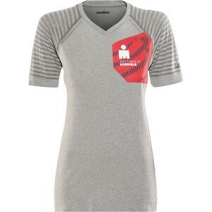 Compressport Ironman 2017 Running Shirt Damen cool grey cool grey