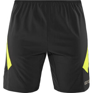 GORE WEAR R5 2in1 Shorts Herren black/neon yellow black/neon yellow
