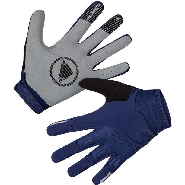 Endura Singletrack Handschuhe Herren marineblau