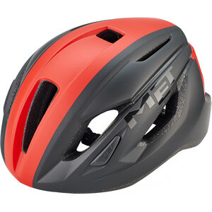 MET Strale Helm black/red panel black/red panel
