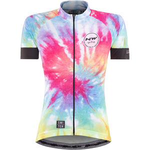 Northwave Hippie SS Jersey Switch Line Damen rainbow rainbow