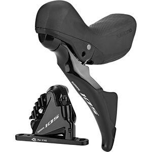 Shimano R7025/R7070 Scheibenbremse Vorderrad Links schwarz schwarz
