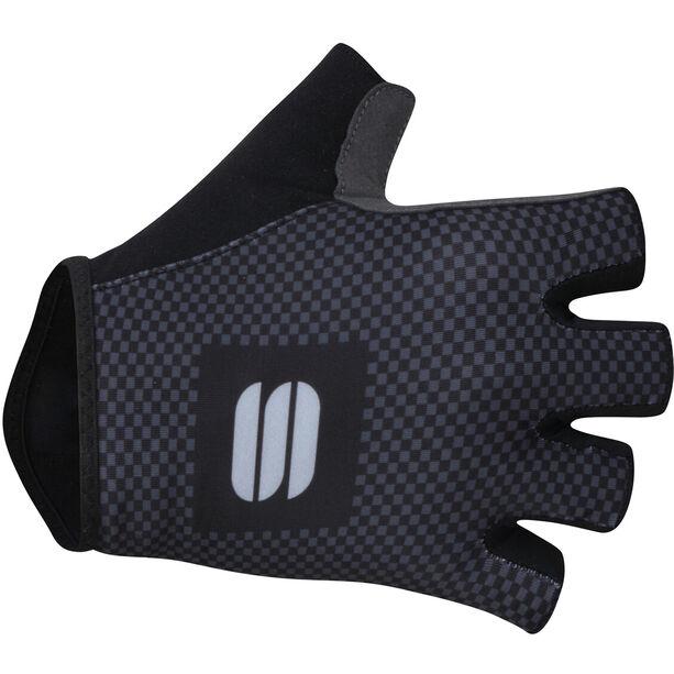 Sportful Checkmate Handschuhe Herren black anthracite
