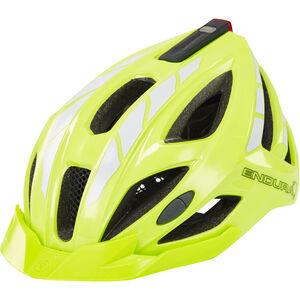 Endura Luminite Helmet hi-viz yellow/reflective hi-viz yellow/reflective