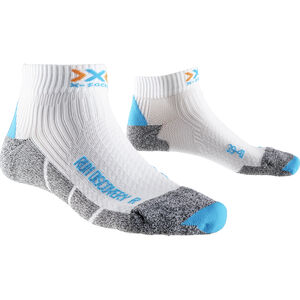 X-Socks Run Discovery Short Socks Women White/Turquoise/Grey Moulinè
