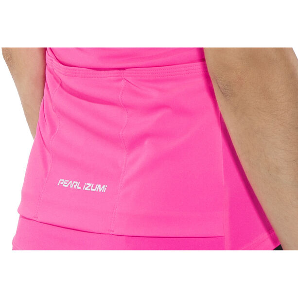 PEARL iZUMi Select Pursuit Shortsleeve Jersey Damen screaming pink/black