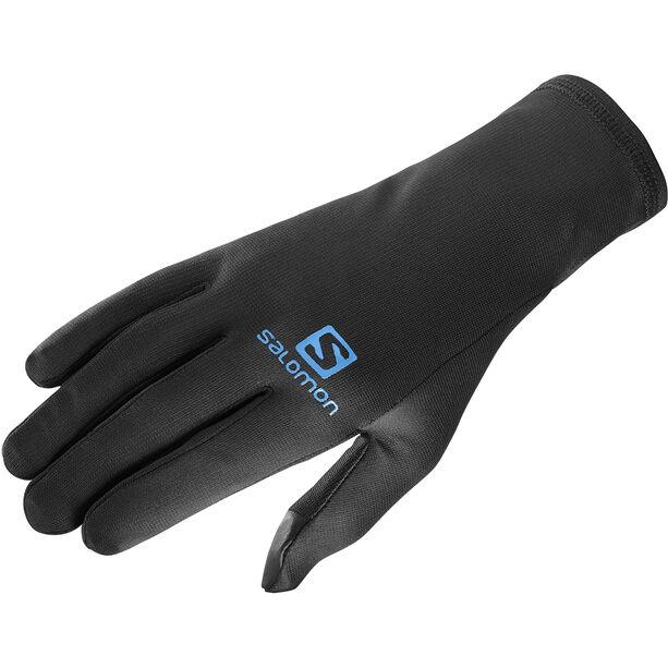 Salomon Sense Pro Gloves black/hawaiian surf