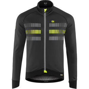 Alé Cycling Graphics PRR Strada 2.0 Jacket Men black-fluo yellow